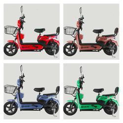 💥(จำนวนจำกัด) จักรยานไฟฟ้า สกูตเตอร์ไฟฟ้า มีที่ปั่น พร้อมไฟเลี้ยวกระจกมองหลัง มี 8 สี รูปเล็กที่ 4