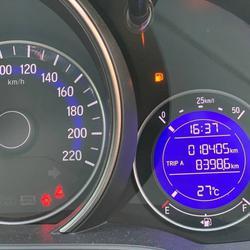 37 Honda New Jazz GK 1.5 RS (MNC) ปี 2019 สีขาว เกียร์ออโต้ รูปเล็กที่ 3