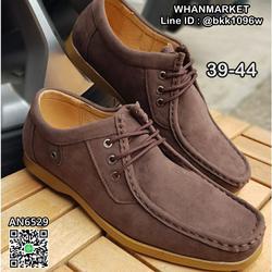 รองเท้าผ้าใบหนัง แฟชั่น แบบผูกเชือก วัสดุหนังPU คุณภาพดี  รูปเล็กที่ 4