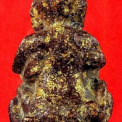 อิ๋นคู่ ล้านนา เนื้อโลหะลงรักปิดทอง รูปเล็กที่ 2