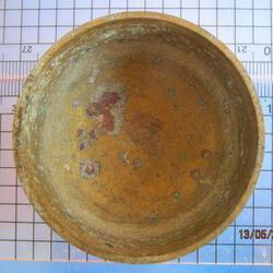 1982 ถ้วยทองเหลือง ความกว้างขนาด 2 นิ้ว สูง 1 นิ้ว ถ้วยทองเห รูปเล็กที่ 3