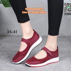 รองเท้าผ้าใบ พื้นนุ่ม น้ำหนักเบา ระบายอากาศได้ดี  รูปที่ 3
