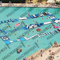 เครื่องเล่นสวนน้ำ obstacle game 20X15เครื่องเล่นสวนน้ำ อุปสรรค 20X15 รูปเล็กที่ 1