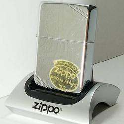 ZIPPO American Classic Lighter Vintage Series 1937 Slashes (High Polish Chrome) 260 รูปเล็กที่ 1