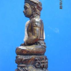 1077 พระกริ่ง อิสฺสิรโก 93 หลวงปู่นิล อิสฺสริโก วัดครบุรี ปี รูปเล็กที่ 2