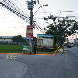 ขายที่ดินไทรน้อย 12 ไร่ เขตบางบัวทอง นนทบุรี ติดถนนบ้านกล้วย-ไทรน้อย เส้น 1013 อยู่ในเขตพื้นที่สีเหลือง เห รูปเล็กที่ 4