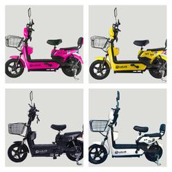 💥(จำนวนจำกัด) จักรยานไฟฟ้า สกูตเตอร์ไฟฟ้า มีที่ปั่น พร้อมไฟเลี้ยวกระจกมองหลัง มี 8 สี รูปเล็กที่ 5