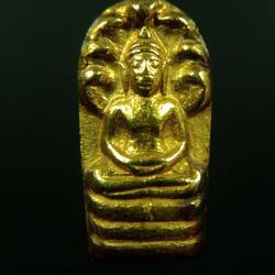 เปิดคับ พระปรกใบมะขาม เนื้อทองคำ เจ้าคุณนรฯ หลังเรียบ รูปเล็กที่ 2