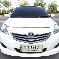 TOYOTA VIOS 1.5G Auto ปี2011 สีขาว รถบ้านมือเดียว รูปเล็กที่ 2