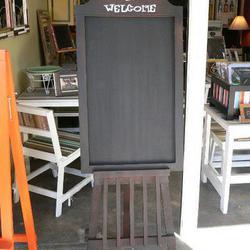 กระดานดำตั้งพื้น ของตกแต่งหน้าร้านขายของเก๋ๆครับ รูปเล็กที่ 1