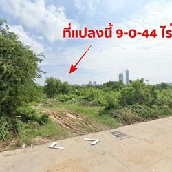 ขายที่ดินทำเลดี ติดถนนสุขุมวิท-พัทยา  9-0-44 ไร่ ใกล้หาดจอมเทียน พัทยา ชลบุรี รูปเล็กที่ 4