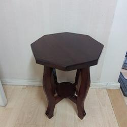 ชั้นวางของ+เก้าอี้ไม้ มือ2 รูปเล็กที่ 4