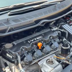 59 Honda Civic 1.8 S MNC (FD) ปี 2009 สีดำ  เกียร์ออโต้ รูปเล็กที่ 4