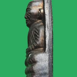 พระหลวงปู่ทวด เตารีดหลังหนัง พิมพ์เล็ก ท. วัดช้างให้ ปี 2506 รูปเล็กที่ 4