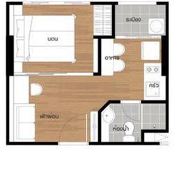 ขาย LPN ศรีนครินทร์-หัวหมาก สเตชั่น 1 ห้องนอน26ตรม รูปเล็กที่ 2