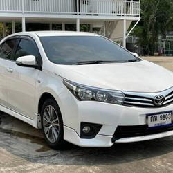 62 Toyota Altis 1.6 E (CNG) ปี 2014 สีขาว เกียร์ออโต้ รูปเล็กที่ 2