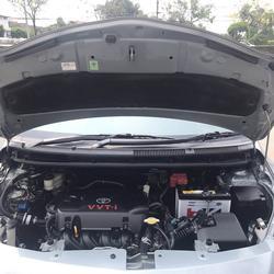 TOYOTA VIOS 1.5 J Auto ปี2011 ติดแก็สLPGหัวฉีดถังโดนัทสองระบบประหยัด รูปเล็กที่ 6