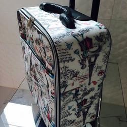 กระเป๋าเดินทางแบบผ้า ลายหอไอเฟล 16 นิ้ว รูปเล็กที่ 3