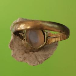 5885 แหวน เข้าตัวเลือนทองเหลือง เส้นผ่าศูนย์กลาง 1.8 เซ็นติเมตร รูปเล็กที่ 3