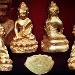 ขายพระกริ่งชินบัญชรหลวงปู่ทิม เนื้อทองคำ ปี 2517 วัดละหารไร่ จังหวัดระยอง รูปเล็กที่ 1