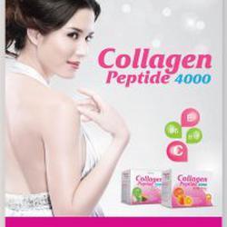 Vistra Collagen Peptide 4000mg. รสส้ม ขนาด10 ซอง **3 กล่อง** รูปเล็กที่ 1