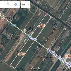 ขายที่ดินไทรน้อย 54ไร่ ติดถนนบ้านกล้วยไทรน้อย บางบัวทอง นนทบุรี ไร่ๆละ 5.5 ล้านาน  รูปเล็กที่ 1