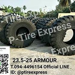 ยางรถตักขนาด  23.5-25  ARMOUR  สามารถติดต่อสอบถามรายละเอียดเ รูปเล็กที่ 1