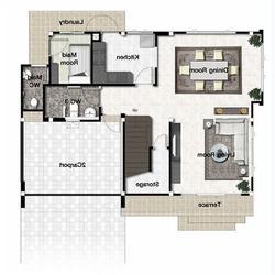 71560 - ขายด่วน บ้านเดี่ยว หมู่บ้าน เพอร์เฟคเพลส ราชพฤกษ์ เฟส 2 ราคาถูก หลังมุม รูปเล็กที่ 3