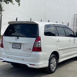 "Toyota Innova 2.0G ออฟชั่น ทีวี จอกลาง กล้องถอยหลังและเซ็นเซอร์ มาให้พร้อมใช้งานเลยครับ"" การเชื่อมต่อ Bluetooth  รูปเล็กที่ 4"