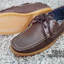 รองเท้าคัชชูหนังผู้ชาย boat shoes วัสดุหนังPU คุณภาพดี  รูปเล็กที่ 2