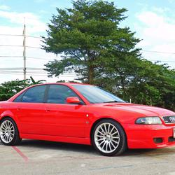 💥 AUDI ออดี้ A4 ปี 1997 เกียร์ออโต้ ไม่เคยชน สมถนะเยี่ยม ของ แต่ง เพียบ รถเก๋ง มือสอง ราคาถูก พร้อมใช้งาน รูปเล็กที่ 1