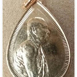 เหรียญหยดน้ำสมเด็จพระญาณสังวร วัดบวรนิเวศวิหาร กรุงเทพฯ ปี 2533