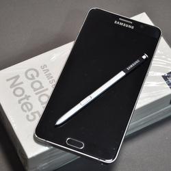 ซัมซุง note5 32GB  สี Black sapphire รูปเล็กที่ 3