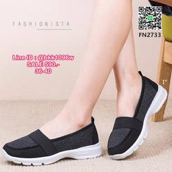 รองเท้าผ้าใบสไตล์ลำลอง ดีไซน์สวยเป๊ะ วัสดุผ้าทอ เนื้อหนานุ่มฟูขึ้นทรง ภายในบุไมโครไฟเบอร์นุ่มมากกกก ใส่สบายมากๆๆ