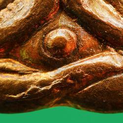 พระปิดตาหลังรูปเหมือน หลวงปู่ทิม วัดละหารไร่ ปี พ.ศ.2517...สวยเดิม รูปเล็กที่ 4