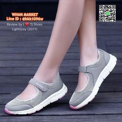 รองเท้าผ้าใบ แบบสวม วัสดุผ้าใบอย่างดี น้ำหนักเบ๊าเบา  รูปเล็กที่ 6