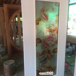 door-woodhome ร้านวรกานต์ค้าไม้ จำหน่ายประตูไม้สัก ,ประตูไม้สักกระจกนิรภัย,ประตูหน้าต่าง รูปเล็กที่ 3