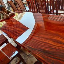 โต๊ะอาหาร ก80xย180+เก้าอี้ 8  ตัว  รูปเล็กที่ 5