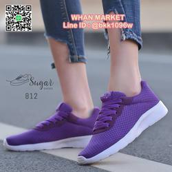รองเท้าผ้าใบแฟชั่น วัสดุผ้าตาข่าย ระบายอากาศได้ดี