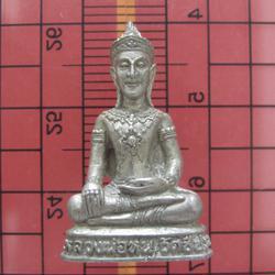 604 หลวงพ่อ หนู วัดชีปะขาว รูปหล่อพระพุทธเนื้อระฆังเก่า  จ.อ