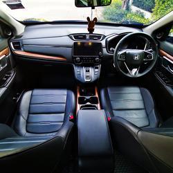 ขายรถ Honda CR-V 1.6 EL ปี 2019 สีดำ รุ่นท๊อปสุด เครื่องยนต์ดีเซล 4WD มือเดียว สภาพป้ายแดง รูปเล็กที่ 5