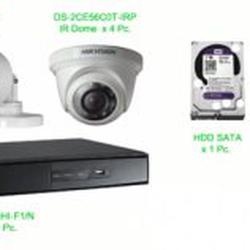 ชุด กล้องวงจรปิด hikvision ราคาถูก รูปเล็กที่ 1