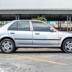 รถบ้าน ปี 2001 Honda City 1.5EXI เบนซิน สีเทา รูปเล็กที่ 2
