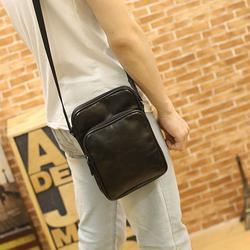 กระเป๋าหนังPU สะพายข้างสีดำ รูปเล็กที่ 1