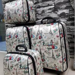 กระเป๋าเดินทางแบบผ้า เซ็ทคู่ 18/13 นิ้ว ลายหอไอเฟว รูปเล็กที่ 5