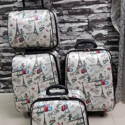 กระเป๋าเดินทางแบบผ้า เซ็ทคู่ 18/13 นิ้ว ลายหอไอเฟว รูปเล็กที่ 4
