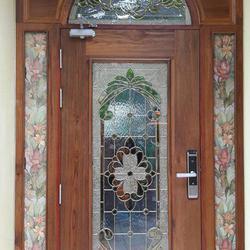 door-woodhome จำหน่ายประตูไม้สัก,ประตูไม้สักกระจกนิรภัย,ประตูไม้สักบานคู่ รูปเล็กที่ 3