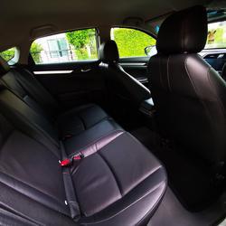 ขายรถ ฟรีดาวน์ Honda Civic รุ่นท๊อปสุด 1.8 EL ปี 2017 ไมล์แท้ เข้าศูนย์ตลอด มือเดียวจากป้ายแดง รูปเล็กที่ 4