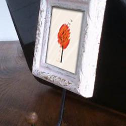 กรอบรูปติดผนังบ้านพร้อมตะขอ สำหรับตกแต่งผนังบ้านสวยๆครับ รูปเล็กที่ 2