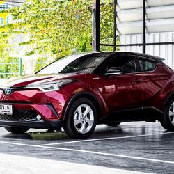 Toyota CHR HV Hi รุ่น Top สุด ปี 2019 เลขไมล์ 60,000 กิโล รูปเล็กที่ 3